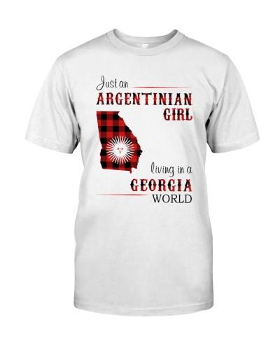 ARGENTINIAN GIRL LIVING IN GEORGIA WORLD