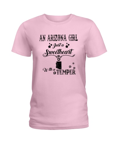 AN ARIZONA GIRL JUST A SWEETHEART WITH A TEMPER