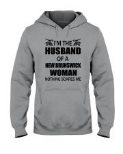 I'M THE HUSBAND OF A NEW BRUNSWICK WOMAN Hooded Sweatshirt thumbnail