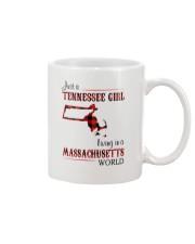 TENNESSEE GIRL LIVING IN MASSACHUSETTS WORLD Mug thumbnail