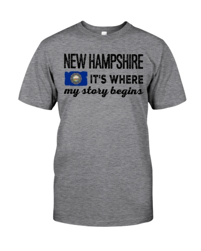 NEW HAMPSHIRE IT'S WHERE MY STORY BEGINS