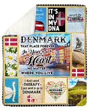 """DENMARK IT'S IN MY DNA Sherpa Fleece Blanket - 50"""" x 60"""" thumbnail"""