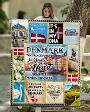 """DENMARK IT'S IN MY DNA Quilt 50""""x60"""" - Throw aos-quilt-50x60-lifestyle-front-01"""