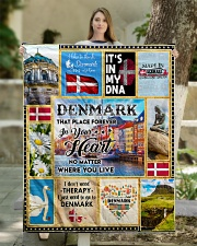 """DENMARK IT'S IN MY DNA Quilt 50""""x60"""" - Throw aos-quilt-50x60-lifestyle-front-03"""