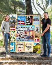 """DENMARK IT'S IN MY DNA Quilt 50""""x60"""" - Throw aos-quilt-50x60-lifestyle-front-04"""