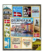 "DENMARK IT'S IN MY DNA Quilt 50""x60"" - Throw front"