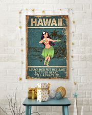 HAWAII FEET LEAVE HEART ALWAYS BE 24x36 Poster lifestyle-holiday-poster-3