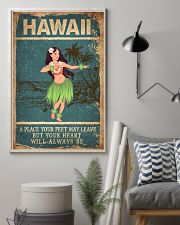 HAWAII FEET LEAVE HEART ALWAYS BE 24x36 Poster lifestyle-poster-1