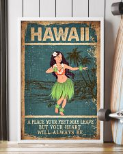 HAWAII FEET LEAVE HEART ALWAYS BE 24x36 Poster lifestyle-poster-4
