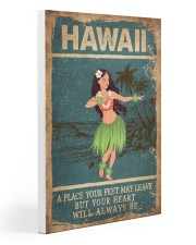 HAWAII FEET LEAVE HEART ALWAYS BE 20x30 Gallery Wrapped Canvas Prints thumbnail