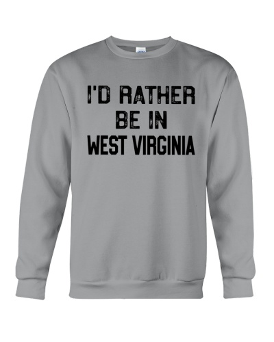 I'D RATHER BE IN WEST VIRGINIA