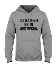 I'D RATHER BE IN WEST VIRGINIA Hooded Sweatshirt thumbnail