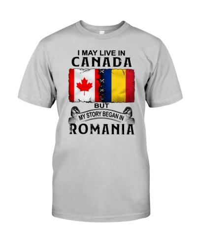 LIVE IN CANADA BEGAN IN ROMANIA