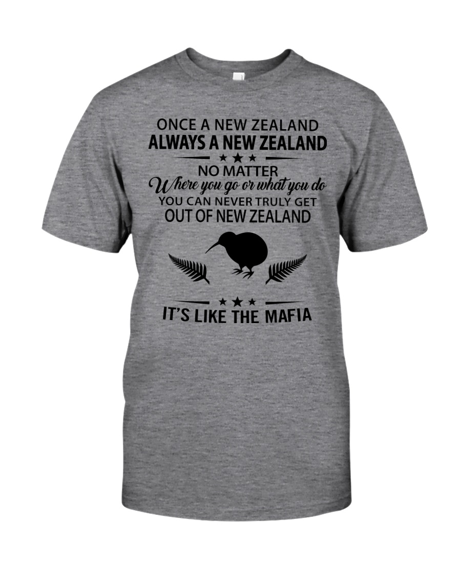ONCE A NEW ZEALAND ALWAYS A NEW ZEALAND Classic T-Shirt