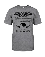 ONCE A NEW ZEALAND ALWAYS A NEW ZEALAND Classic T-Shirt front