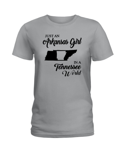 JUST AN ARKANSAS GIRL IN A TENNESSEE WORLD