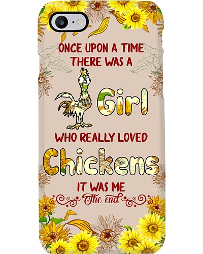THERE WAS A GIRL WHO REALLY LOVED CHICKENS