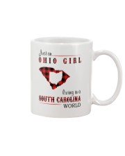 OHIO GIRL LIVING IN SOUTH CAROLINA WORLD Mug thumbnail