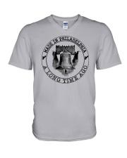 MADE IN PHILADELPHIA A LONG TIME AGO V-Neck T-Shirt thumbnail