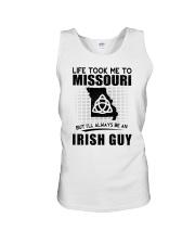 IRISH GUY LIFE TOOK TO MISSOURI Unisex Tank thumbnail