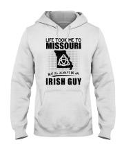 IRISH GUY LIFE TOOK TO MISSOURI Hooded Sweatshirt thumbnail