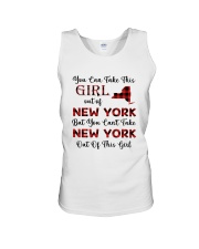YOU CAN'T TAKE NEW YORK OUT OF THIS  GIRL Unisex Tank thumbnail