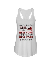 YOU CAN'T TAKE NEW YORK OUT OF THIS  GIRL Ladies Flowy Tank thumbnail