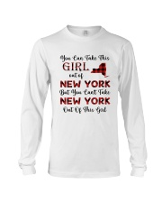 YOU CAN'T TAKE NEW YORK OUT OF THIS  GIRL Long Sleeve Tee thumbnail