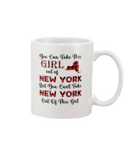 YOU CAN'T TAKE NEW YORK OUT OF THIS  GIRL Mug thumbnail