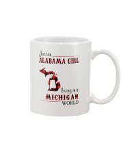 ALABAMA GIRL LIVING IN MICHIGAN WORLD Mug thumbnail