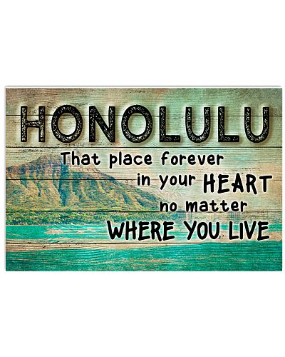 HONOLULU THAT PLACE FOREVER IN YOUR HEART