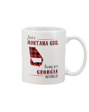 MONTANA GIRL LIVING IN GEORGIA WORLD Mug thumbnail
