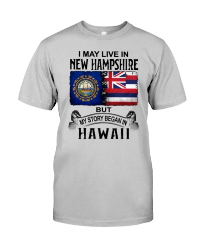 LIVE IN NEW HAMPSHIRE BEGAN IN HAWAII