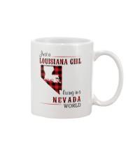 LOUISIANA GIRL LIVING IN NEVADA WORLD Mug thumbnail