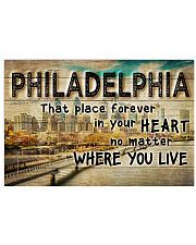 PHILADELPHIA THAT PLACE FOREVER IN YOUR HEART 24x16 Poster front