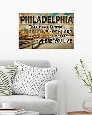 PHILADELPHIA THAT PLACE FOREVER IN YOUR HEART 24x16 Poster poster-landscape-24x16-lifestyle-01