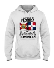 LIVE IN FLORIDA BEGAN IN DOMINICAN Hooded Sweatshirt thumbnail