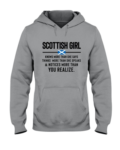SCOTTISH GIRL KNOWS MORE THAN SHE SAYS