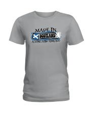 MADE IN SCOTLAND A LONG LONG TIME AGO Ladies T-Shirt thumbnail