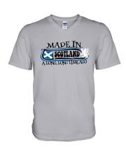 MADE IN SCOTLAND A LONG LONG TIME AGO V-Neck T-Shirt thumbnail