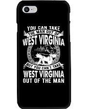 YOU CAN'T TAKE WEST VIRGINIA OUT OF MAN Phone Case thumbnail