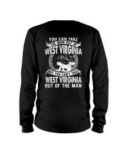 YOU CAN'T TAKE WEST VIRGINIA OUT OF MAN Long Sleeve Tee thumbnail