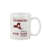 CANADIAN GIRL LIVING IN NEW YORK WORLD Mug thumbnail