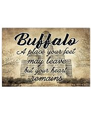 BUFFALO A PLACE YOUR HEART REMAINS 24x16 Poster front