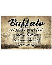 BUFFALO A PLACE YOUR HEART REMAINS Horizontal Poster tile