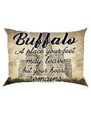BUFFALO A PLACE YOUR HEART REMAINS Rectangular Pillowcase thumbnail