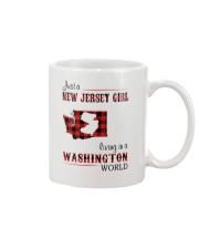 JERSEY GIRL LIVING IN WASHINGTON WORLD Mug thumbnail