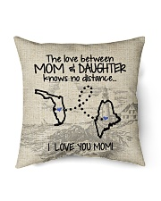 """MAINE FLORIDA THE LOVE MOM AND DAUGHTER Indoor Pillow - 16"""" x 16"""" back"""