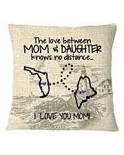 MAINE FLORIDA THE LOVE MOM AND DAUGHTER Square Pillowcase thumbnail