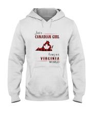 CANADIAN GIRL LIVING IN VIRGINIA WORLD Hooded Sweatshirt thumbnail